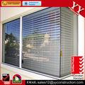 doble acristalamiento de vidrio de la ventana con persianas de interior