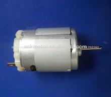 Aok 28v motor eléctrico dc/mini motor de corriente continua para secador de pelo