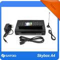 la parte superior de venta original a4 skybox hd de internet por satélite receptor