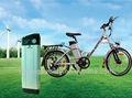 36v 10a bicicleta eléctrica con batería de pescado plata caso