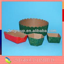 Papel assadeiras pão/molde de papel manteiga