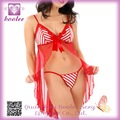 Venta caliente extremadamente atractivo Peppermint Cover Up vestido PP9595