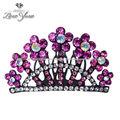 boda de diamante de imitación y coronas tiaras/diademas para las novias de lujo elegante y coronas tiaras/diademas
