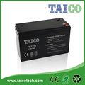 12v 7ah de plomo ácido de la batería para ups