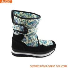 zapatos de invierno cálido con caucho y suela de eva
