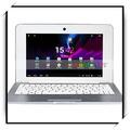 "1gb 4gb disco duro 10.1"" via8880 dual- núcleo chino mini ordenador portátil netbook android de plata"