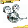 ar nitrógeno de alta pureza de gas regulador de presión