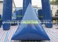 Atacado millenniuminflável paintball campo bunker/inflável paintball bolas fabricante