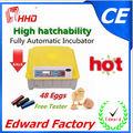 reciente aprobado por la ce profesionales de venta de incubadoras utilizadas( 48 huevos) para la venta ew-48