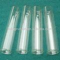 tubo de vidrio con borde