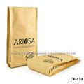 fabricación de encargo impreso acabado mate bolsa de café 1kg