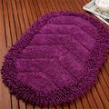 2014 venta caliente lavables absorbente anti deslizamiento de algodón alfombra de chenilla