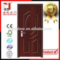 Pvc-mdf interior puerta de madera para las habitaciones