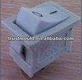 blanco de encendido y apagado interruptor basculante