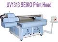 Promocional led uv impressora plana, pvc concha de acrílico plana pritner 3d uv1313 impressora