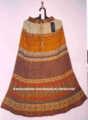 Coton jupes longues panneau indien imprime coton 36 pouces. jaipuri jupes pour femmes long& filles. fait jupes.