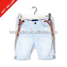 ( #tg509s) 2013 moda bolsillos con solapa correa de diseño de las bermudas pantalones cortos para hombre