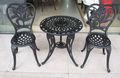 Ferro fundido jardim mesa e cadeira 101223f+201223z