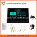 toque de banda cuádruple gsm remoto inalámbrico de alarma de alerta sistem para seguridad en el hogar