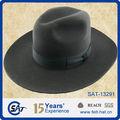 Israel vintage 100% lã de feltro chapéu judaico