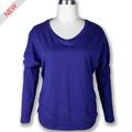 nuevo 2014 azul de moda señoras diseñador de las mujeres ropa casual 2014