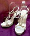 2014 verão do casamento de cristal sandálias sexy sandálias de salto alto