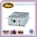 Pan 4 estufa de chocolate/chocolate eléctrica estufa