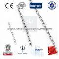 La producción de alta resistencia y de la cadena de acero inoxidable altamente pulido cadena 304