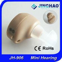 mini tipo de audífonos para la oreja