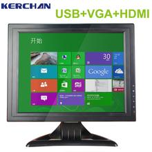 """Industrial 15"""" lcd monitor con entrada bnc"""