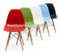 Moderna silla de plástico dsw eames silla de comedor/venta caliente moderno silla de plástico