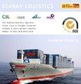 mar de mercancías desde China hasta Columbia