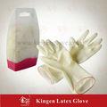 de látex guantes de la mano