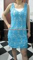 2014 crochê vestido da senhora verão