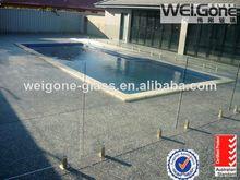 de alta resistencia de vidrio balcón barandilla de diseños