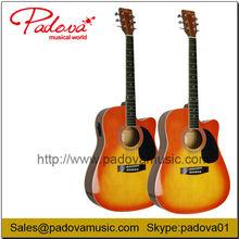 Guitarra acústica de la guitarra eléctrica
