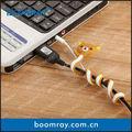 estilo de los animales 2014 venta caliente de regalo conjunto handtwister cable winder cuerda titular de regalos y manualidades