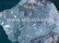 Finos de mineral de celestina ( sulfato de estroncio )