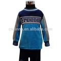 2014 azul de terciopelo de la marca nuevo encantador de la moda al por mayor de ropa para niños de china