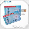 de plástico de tarjetas de crédito de la promoción mini tarjeta de webkeyregalos