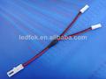venta caliente llevó la luz de accessaries toma uno 2 conectar el enchufe con cable 50cm para el mercado europeo
