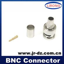 buena calidad jr rg6u conector bnc