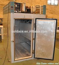 Pollo de aire explosión congelador/explosión del congelador para los peces, carne de la aprobación del ce