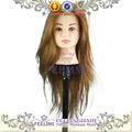 Popular moda& rosto bonito cabeça mannequine para perucas manequim cabeça com o cabelo na venda