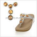 2014 populares decorativos de acrílico del zapato para los zapatos de la señora sandalia cadenas