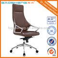 Moderno ejecutivo jefe silla con base de aluminio gs-g1900