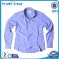 2014 mens del algodón de última moda se visten camisa de la aduana