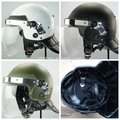 hot selling high quality anti-riot military police safety helmet with visor, Police helmets supplier