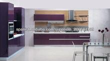 Alto brillo cocina morden los muebles DJ-K209