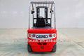 montacargas eléctrica rojo de acero venta al por mayor de China 2014